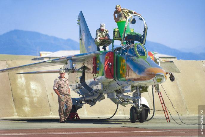 Вообще, при Советском Союзе, Су-27 на территории Казахстана не было. Эти боевые машины 4-го поколения...