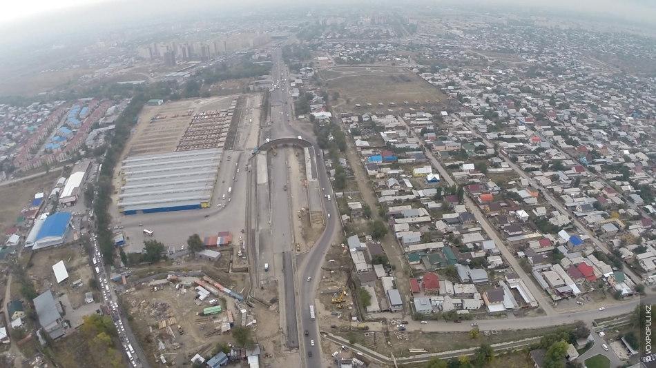 Алматинские развязки: с высоты