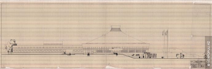 Первоначально предполагалось, что здание Алматинского цирка станет типовой копией Ашхабадского. Однако его создатели отстаивали оригинальный...