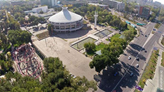 В 70-е годы в Алматы было
