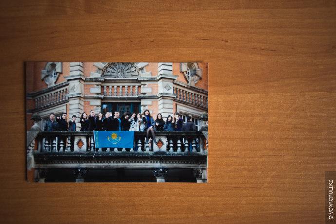 Под руководством Игоря мы связались со всеми президентами kazsocieties, которых удалось отыскать в разных университетах....