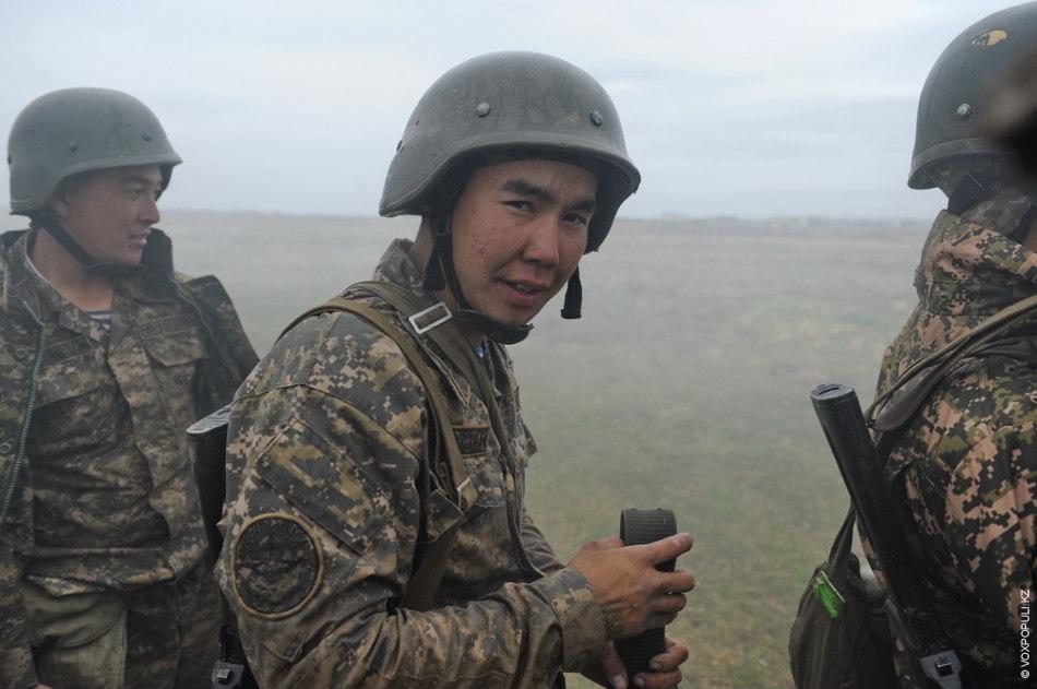 «Мы воины Сухопутных войск Вооруженных сил Казахстана!»