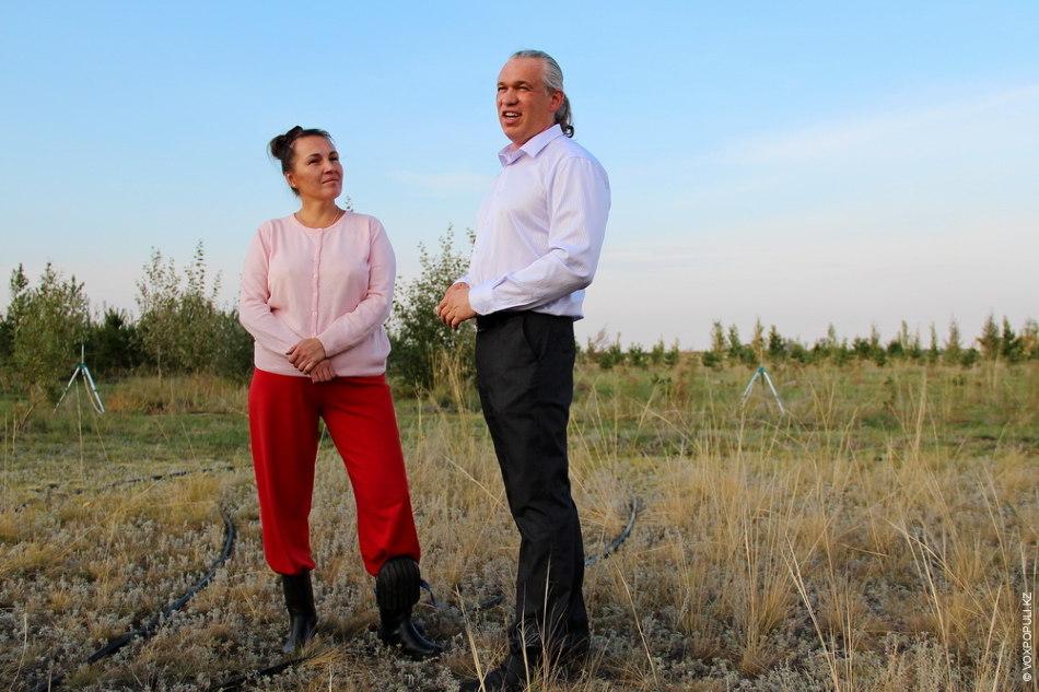 Так, Юрий вместе с супругой Ольгой в 2004 году начал осваивать бесхозные земли близ села...