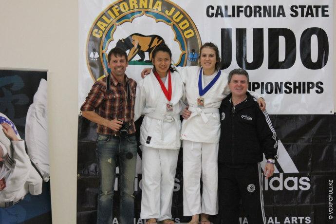 Кроме того, Юлия выиграла несколько соревнований по дзюдо, среди которых престижный турнир штата California State...