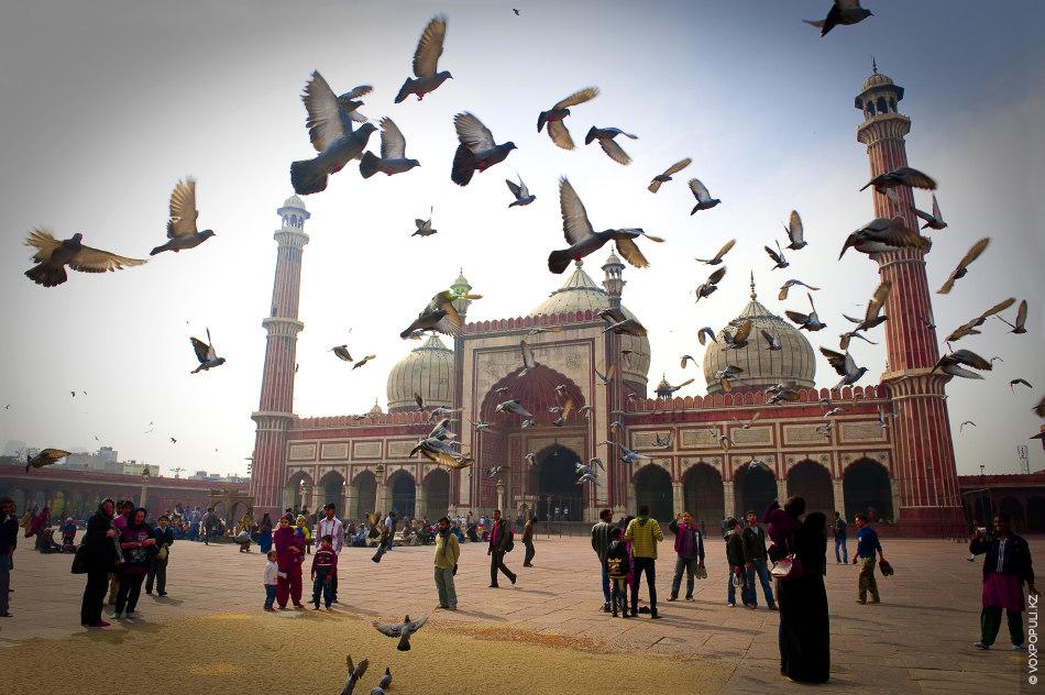 Джамма Масджит  – делийская соборная мечеть. Построена Шах Джаханом 1656 году