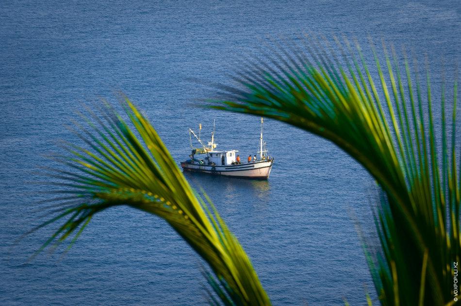 Вид на море из форта Кабо де Рама