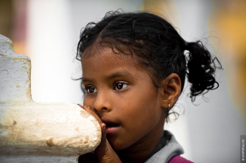 Девочка из городка Маргао
