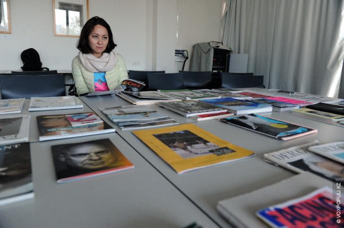 Цель мастер-класса – информирование локальных специалистов о процессе производства тематических печатных изданий по искусству Германии...