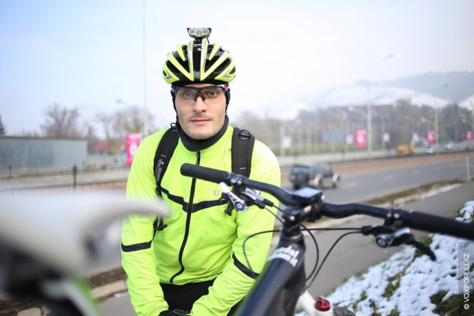 Назар Тареев, 28 лет, IT-специалист:  – Велосипед как основной способ передвижения я начал использовать зимой...