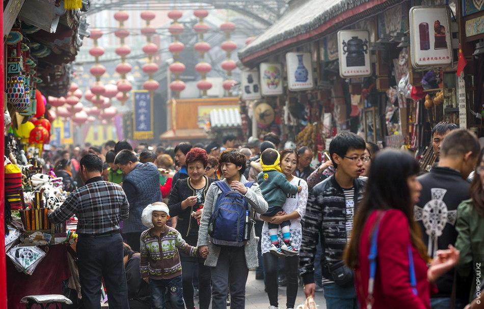 Рынок Ябаолу – самый крупный торговый центр города под открытым небом