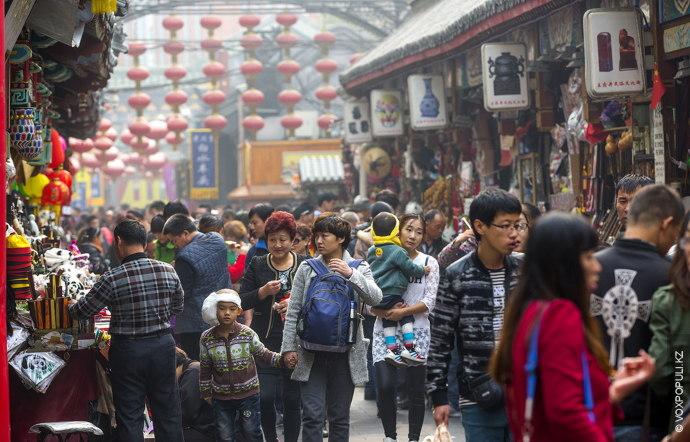 Рынок Ябаолу – самый крупный торговый центр города под открытым небом.