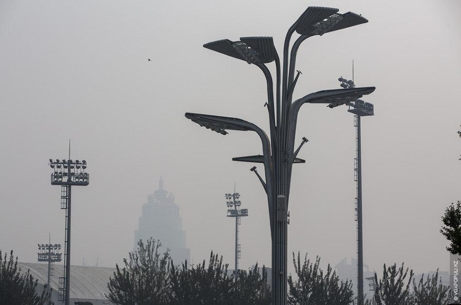 Фонари, некогда освещавшие огнями Пекинскую Олимпиаду