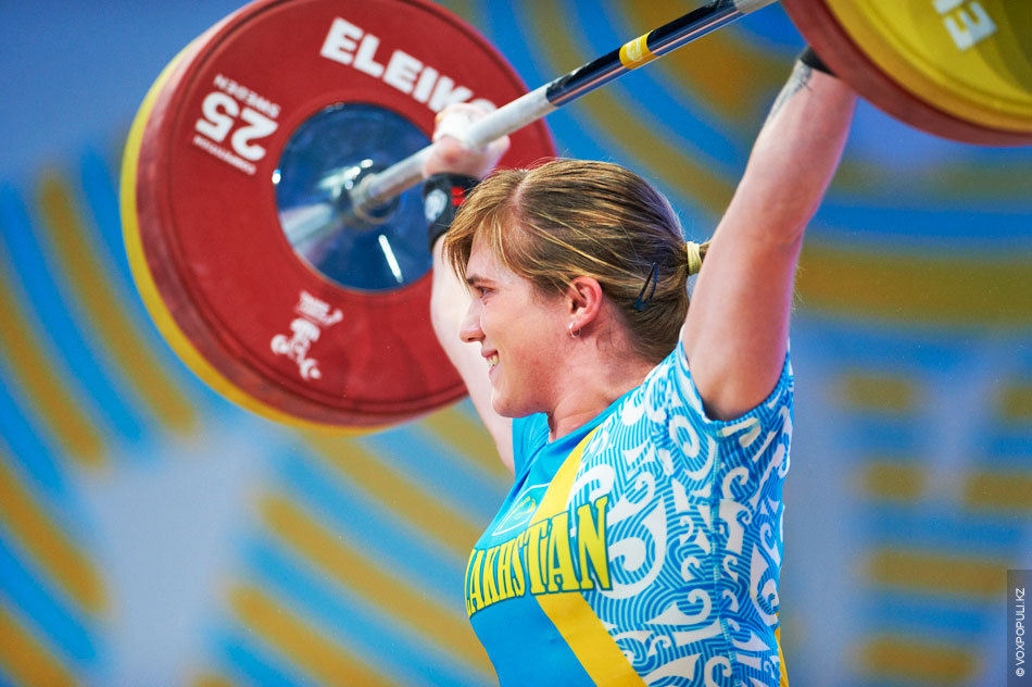 Карина Горичева (до 63 кг)  Тот самый случай, когда вес имеет значение. Карина Горичева после рывка...