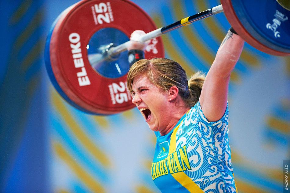 Сборная Казахстана по тяжелой атлетике повторила свой лучший результат по количеству медалей на чемпионатах мира...