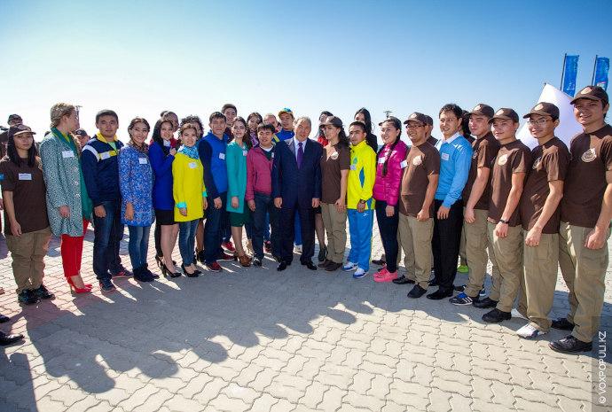 Перед началом пути нам посчастливилось встретиться с главой государства Нурсултаном Абишевичем Назарбаевым. Президент отметил важность...
