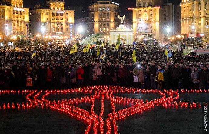 21 ноября 2014 года в Киеве прошел Марш достоинства, приуроченный к годовщине Евромайдана. Наш корреспондент...