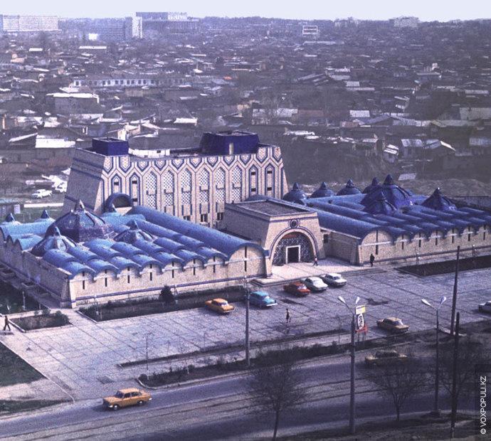 Национальные бани в Ташкенте. Снесены в 2010 году.