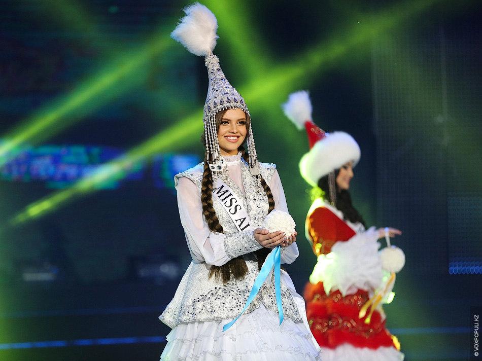 """""""Мисс Алматы"""" - Регина Вандышева"""