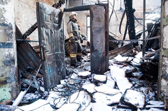 Во вторник, 2 декабря, в Алматы на пересечении улиц Байтурсынова и Гоголя горел один из...