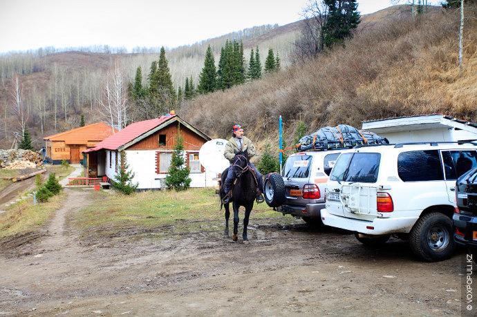 Алматинская область, куда добрались участники экспедиции
