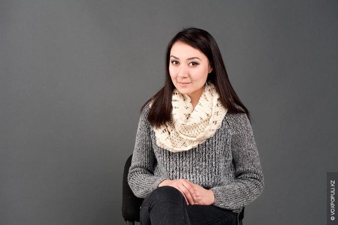 Салтанат Касенова. Руководитель проектов, дизайнер-декоратор. Окончила КазУМОиМЯ по специальности