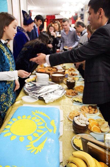 Дегустация блюд национальной кухни в Москве (МГИМО)