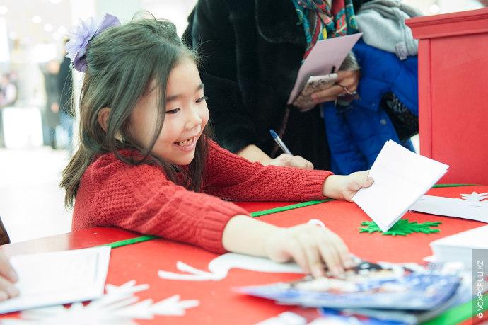 Дети со всего Казахстана могли написать письмо и получить возможность пережить настоящее Новогоднее Чудо.