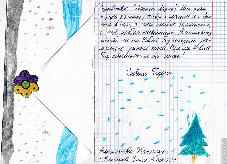 Картинки, как красиво подписать открытку деду морозу