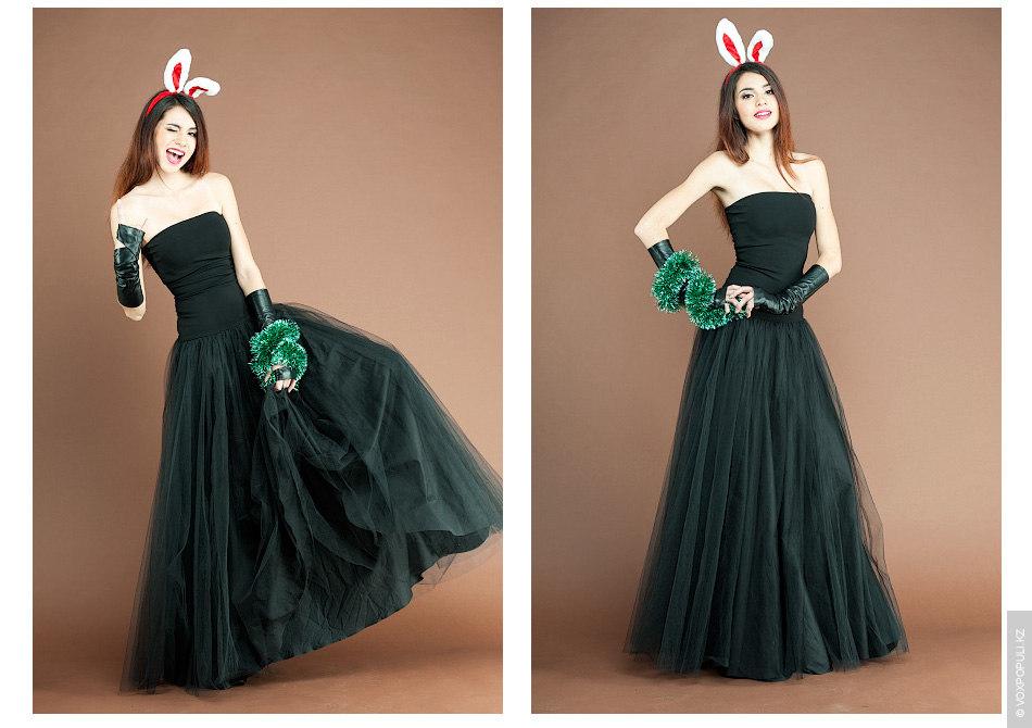 – Обтягивающее сверху и воздушное снизу платье с корсетом (42000 тенге) – отличное решение для...