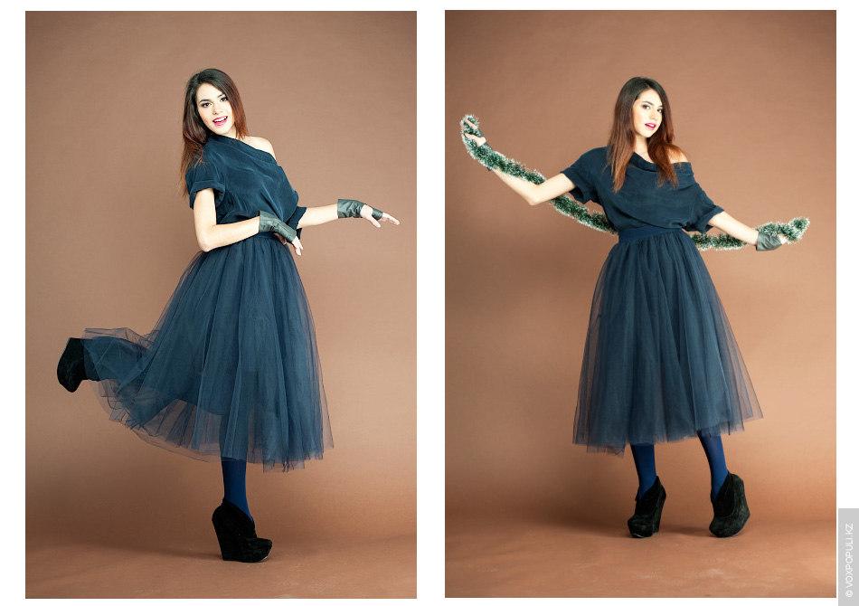 – Прекрасным решением станет синий цвет, который активно использовался в новогодней коллекции бренда. Заметьте, в...