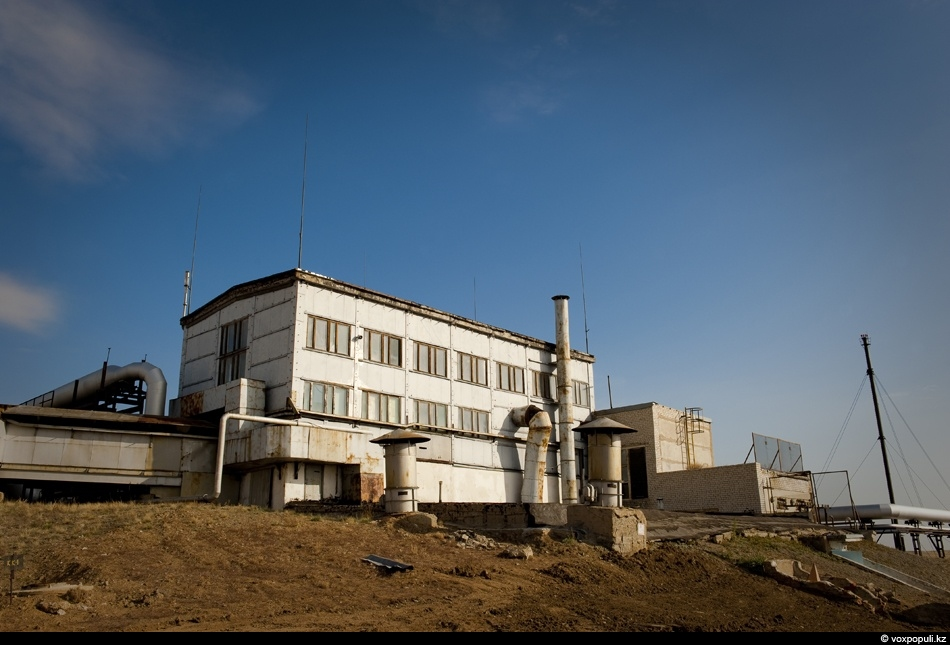 Our scientists have inherited unique nuclear reactors from military forces. This is the building of...