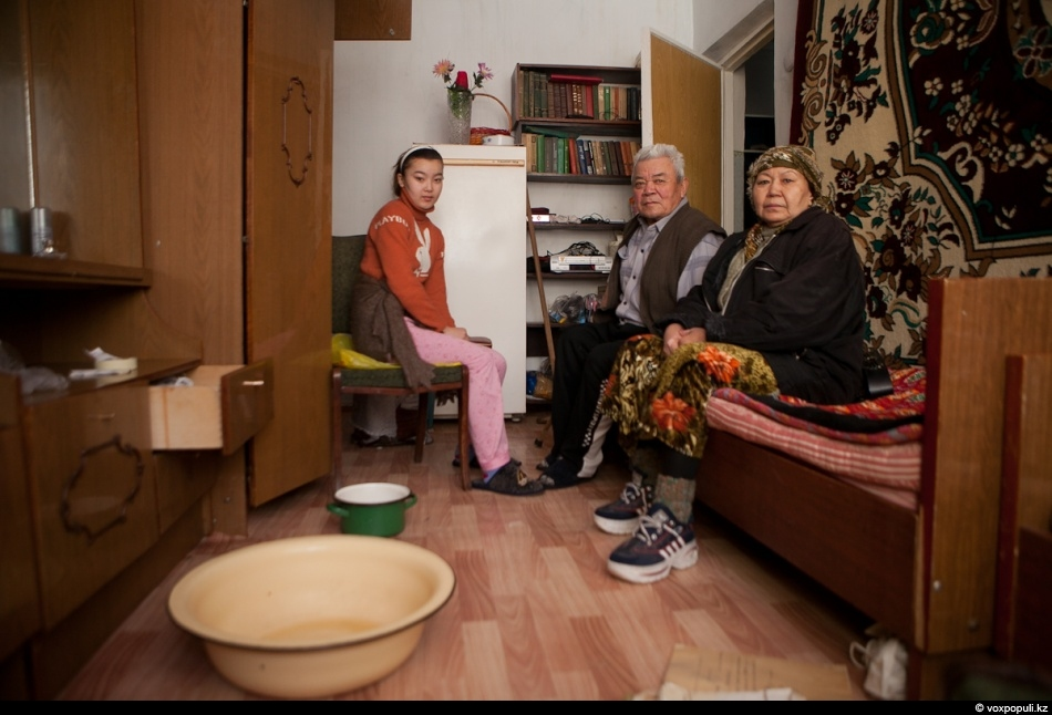 After radiators broke down in confectioner Urziya's flat, electricity was urgently cut off in the...