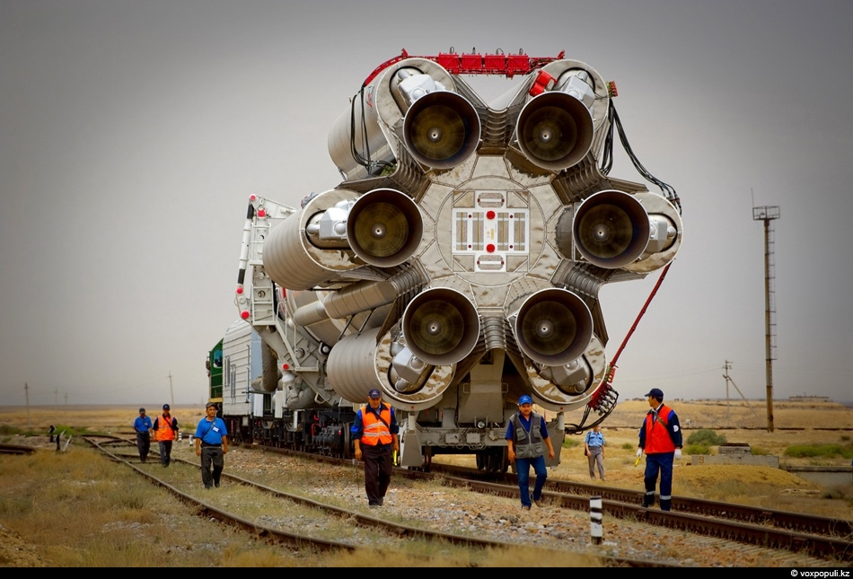 Как запускают спутник с космодрома «Байконур»