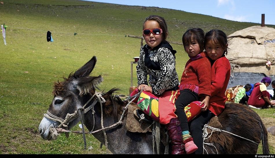 С детства – в седле. Урочище Ойранды. Кыргызский хребет