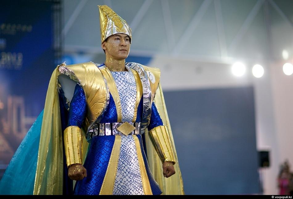Костюм супергероя казахстанско