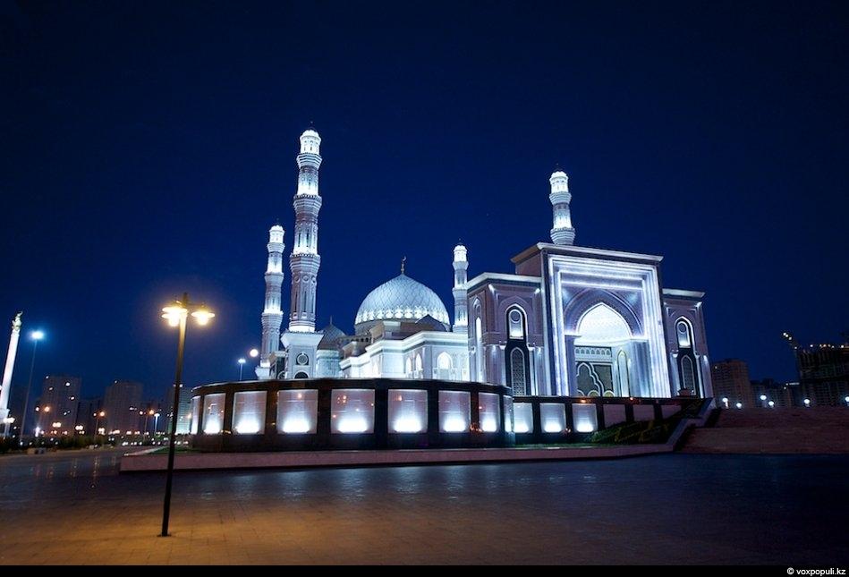 Мечеть фото ночью