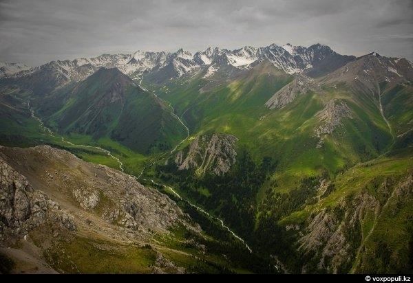 Юго восток казахстана каким его видят