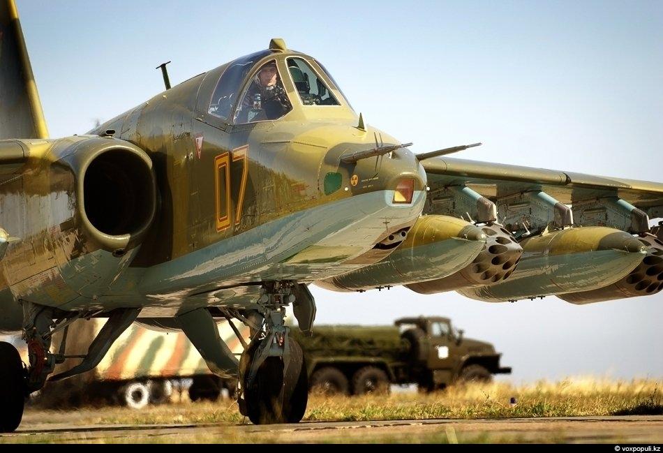 Аэродром Луговое. В российских войсках этот самолет получил прозвище