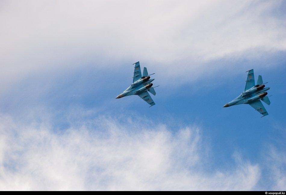 Воздушный бой на Су-27 УБМ 2