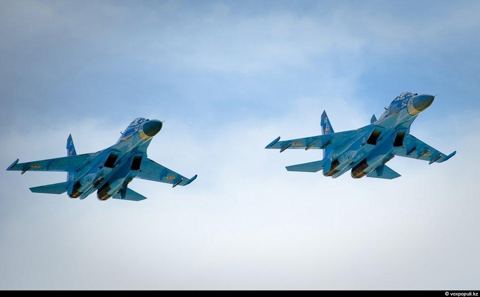 За два года наши летчики полностью освоили эти сложнейшие боевые машины. Международные учения ОДКБ