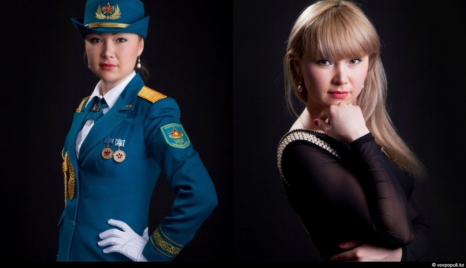 Sandy Smagulova, Astana  	Sergeant of military unit № 68665 of Airmobile forces MoD RK